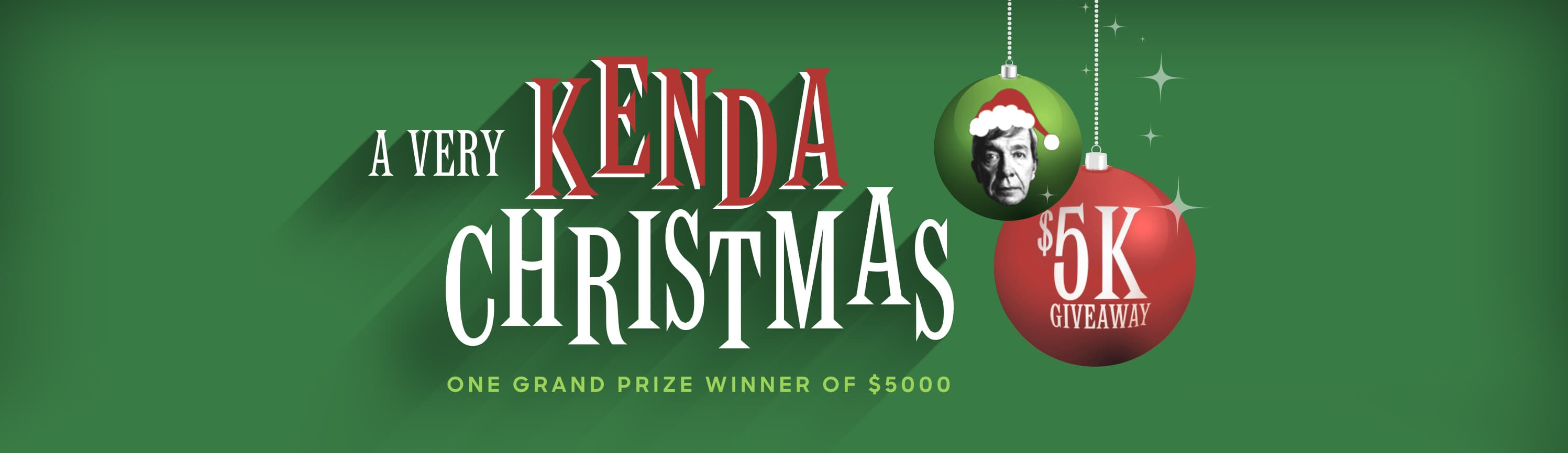 A Very Kenda Christmas Giveaway