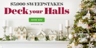 Better Homes and Gardens Deck Your Halls $5K Sweepstakes