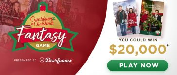 Hallmark Channel Countdown to Christmas Fantasy Game 2019