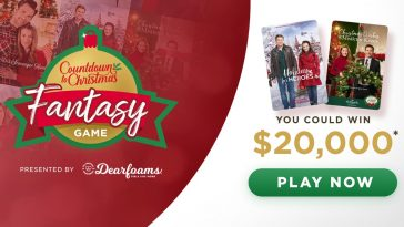 Hallmark Channel Countdown to Christmas Fantasy Game 2019