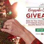 Hallmark Channel Keepsake Ornament Giveaway 2019