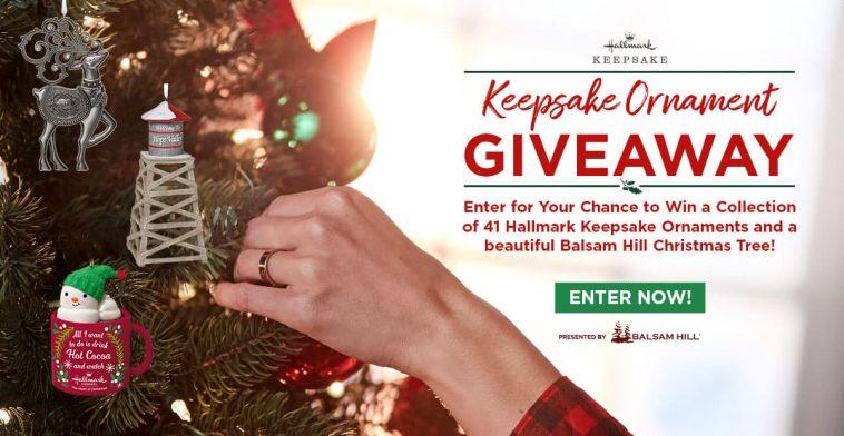 Hallmark Channel Keepsake Ornament Giveaway 2019