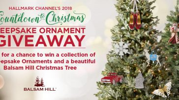 Hallmark Channel Keepsake Ornament Giveaway