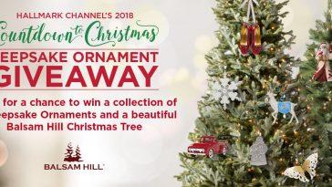 Hallmark Channel Keepsake Ornament Giveaway