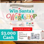 Teamson Win Santa's Workshop Sweepstakes