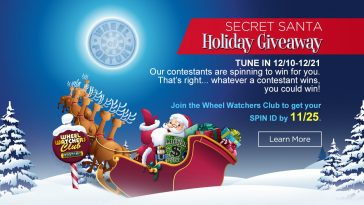 Wheel Of Fortune Secret Santa 2018 Sweepstakes