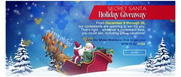 Wheel Of Fortune Secret Santa Holiday Giveaway 2019