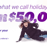 Ebates Refer-A-Friend $50,000 Endless Possibilities Holiday Giveaway