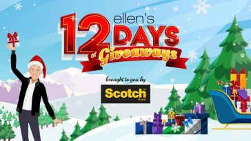 Ellen 12 Days of Giveaways