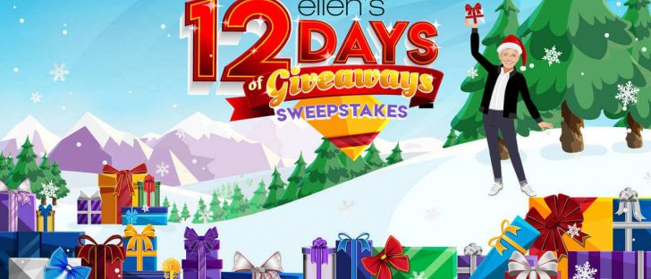 Ellen 12 Days of Giveaways Trip Sweepstakes