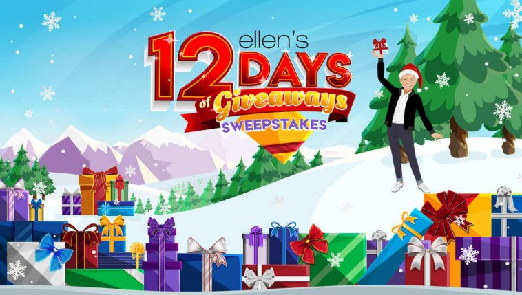 Ellen 12 Days of Giveaways Trip Sweepstakes