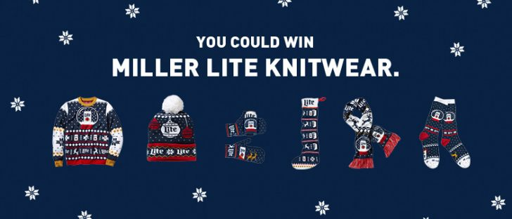 Miller Lite Christmas Ugly Sweater Instant Win Game