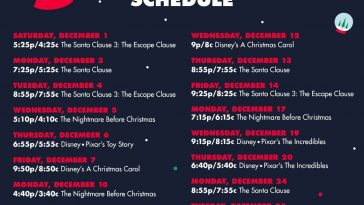 Freeform 25 Days of Christmas Disney Codes