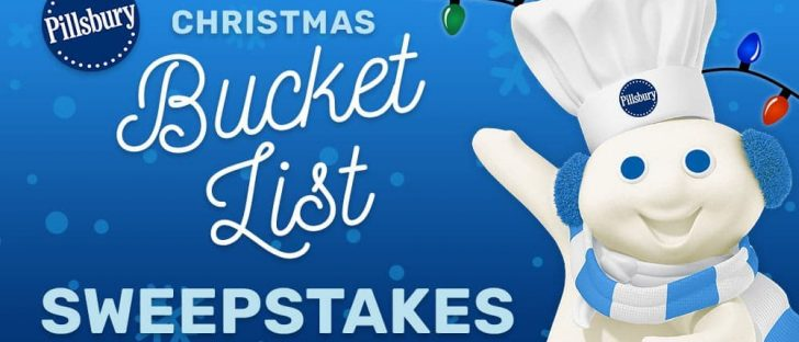 Pillsbury Christmas Bucket List Sweepstakes