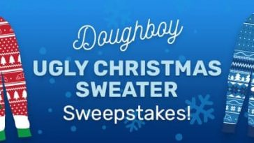 Pillsbury Ugly Christmas Sweater Sweepstakes