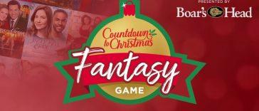 Hallmark Channel Countdown to Christmas Fantasy Game 2020