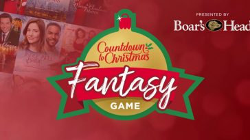 Hallmark Channel Countdown to Christmas Fantasy Game 2020
