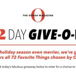 Oprah 12 Days of Christmas 2020 Sweepstakes