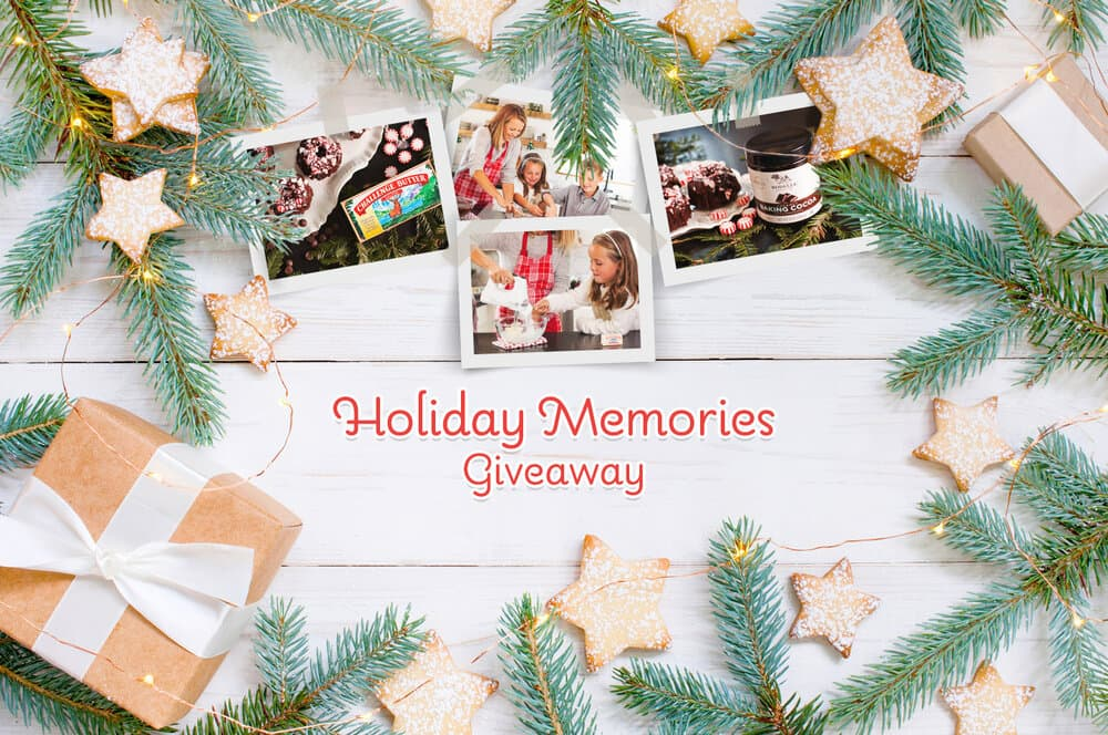 Challenge Butter Holiday Memories Giveaway 2020