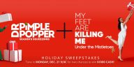 TLC Dr Pimple Popper and My Feet Are Killing Me Holiday Sweepstakes